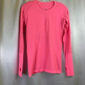 Lululemon Swiftly Tech Long Sleeve Top Pink